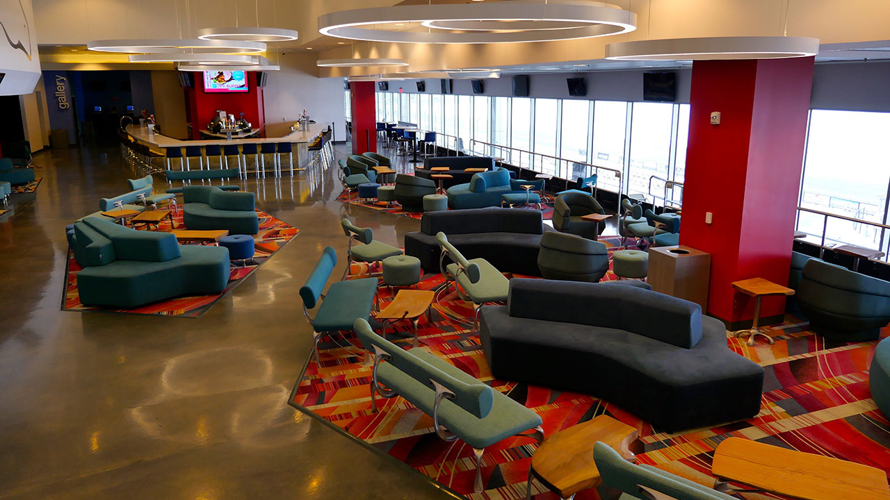seating at ark lounge